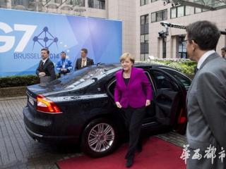 沃尔沃汽车担当七国集团首脑会议元首用车