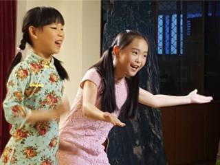 """""""庆六一·进社区""""少儿曲艺展演 小笑星们受欢迎"""