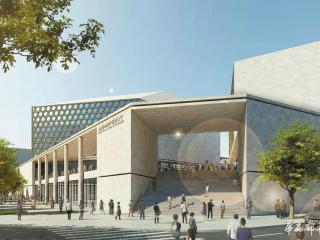 成都城市音乐厅全面启动主体工程施工