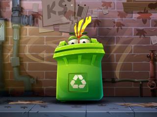 春熙路上火过的智能垃圾桶出口欧洲了,今年成都布局2000台