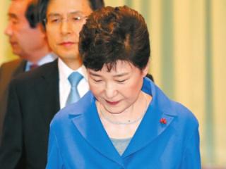 韩国检方决定 向法院申请逮捕韩国前总统朴槿惠