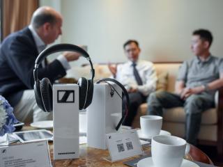近距感受全球最贵的耳机!森海塞尔成都展出顶级音频科技