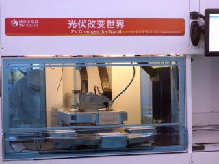"""""""无人工厂""""来了!通威成都投产世界首条工业4.0高效电池生产线"""