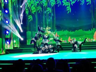 2018年未成年人网络春晚在成都举行 来自全国的萌娃给观众拜早年