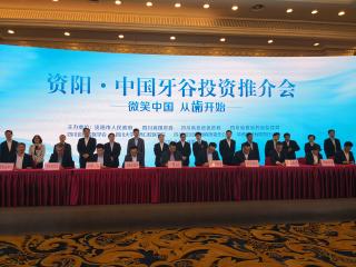 """""""中国牙谷""""再签9个产业类项目 致力打造全球唯一牙谷"""