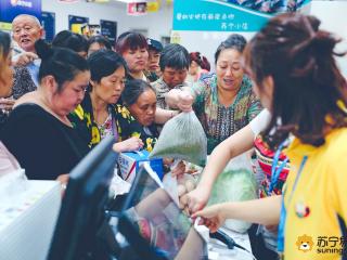 苏宁618首日销售增长163%,5000家线下门店优势凸显
