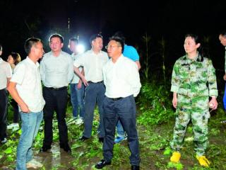秀水河河堤垮塌 锦江区领导现场指挥抢险