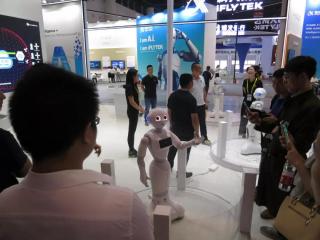 一大波人工智能正在西博会出没……