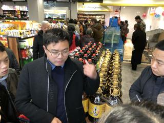 社区共享超市开张200居民既当股东又当消费者