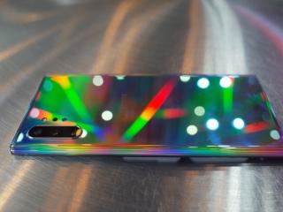 三星开推5G手机,Galaxy Note10系列充满颜值与战斗值