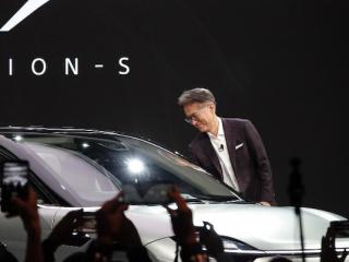 CES大彩蛋:索尼黑科技终于和自动驾驶车辆合体了