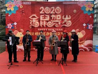 """喜气洋洋迎新春 居民共庆""""我们的节日"""""""