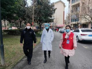 """社區五級聯防 戰""""疫""""隊為居民健康保駕護航"""