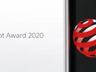 索尼7款產品獲2020紅點獎產品設計大獎