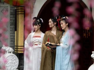 五一假期  去洛带古镇体验汉服文化之旅