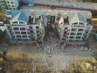 内蒙古居民楼爆炸:死亡人数已增至5人