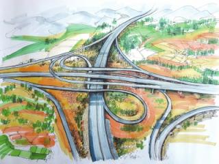 """""""手绘四川""""创意绘画大赛丨高速路让她的回家路快了"""