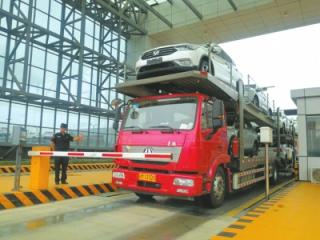 进口车运抵成都从70天缩短到10多天