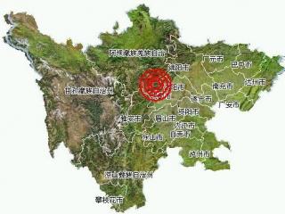 汶川4级地震系8级地震余震 部分房屋出现裂纹