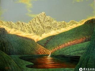 以艺术创造精神的圣山 ——读徐里油画作品系列《永恒的辉煌》