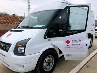 愛心救護車抵漢交付 全力支援疫情攻堅戰