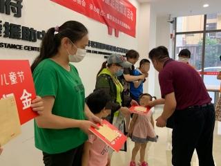 """""""合力相伴 健康成长"""" 成华民政开展困境儿童定向援助活动"""
