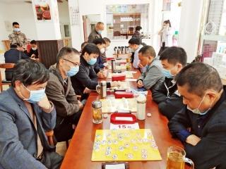 """安公社区成立棋社 棋友相聚乐在""""棋""""中"""