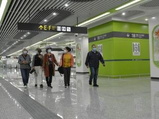 万博官网登录手机版本地铁18号线开通 华阳20多分钟飙拢三岔站