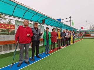 传递运动正能量 营造全民健身氛围——专访天府新区门球协会会长杨卫平