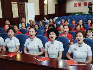 咏春声乐进社区 唱响经典红色主旋律