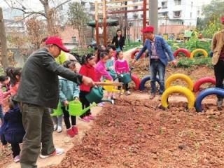 赖家新桥社区开展亲子植树活动