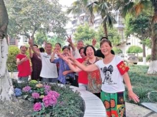 志愿者自编舞蹈演绎利民故事获点赞