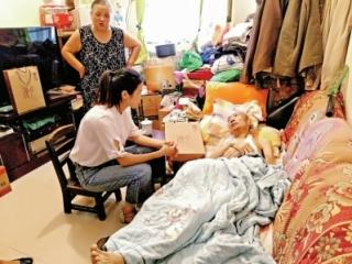 點贊品質養老機構 為困難家庭送溫暖