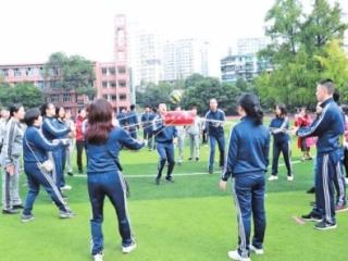 城隍庙社区第二届社区趣味运动会举行